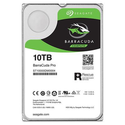 全国一律送料無料メカ保証5年SEAGATEBarraCudaPro内蔵ハドディスク3.5インチ10TB安全に茶箱で個別梱包してますST10000DM0004