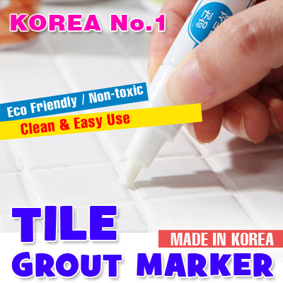 LOCAL Delivery  Tile Grout Marker Pen   non toxic   Kitchen Bathroom   Made. Qoo10    LOCAL Delivery  Tile Grout Marker Pen   non toxic
