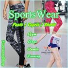 *New Shorts Arrivals*(SweetangelShop)*Local Seller/Local Exchange* - Premium Ladies Sports Sports Yoga Zumba Gym Bottom - Running Yoga Shorts / Capris / Pants