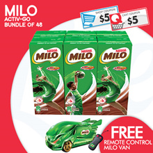 [Nestle]【BEST PRICE!】 MILO® carton sale at $24.50! 【FREE REMOTE CONTROL VAN!】