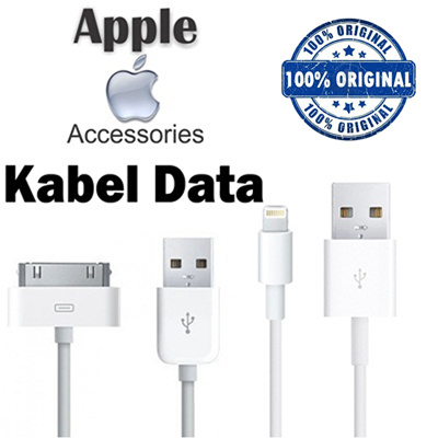 Buy 100% Original Cable Charger With Adaptor for Iphone 4/4S | Iphone 5/5S/ 5C/6/6 Plus/6S/6S Plus Deals for only Rp95.000 instead of Rp142.200