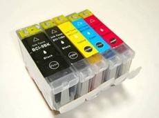 CANON BCI-7e/9BK 互換インク 5色組合せ自由☆MP970 MP960 MP950 MP830 MP600 MP500