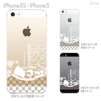 【iPhone5S】【iPhone5】【HAREM graphics】【iPhone5sケース】【カバー】【スマホケース】【クリアケース】 hgx-ip5s-060の画像