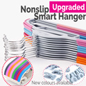 [Local Fast shipping]★Non slip Smart Hanger★CNY / New Year/ Singapore Local delivery /Clothes Organizer Holder / Dress hanger / Slim hanger / space saver