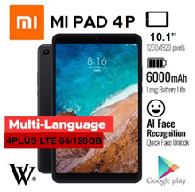 XIAOMI MIPAD 4/Tablet/WIFI/LTE/ MI Pad 4 Plus 64GB/ 128GB Free Tempered Glass and Silicon Case