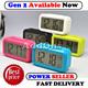 Smart Digital Alarm Clock w Big Screen LED Light Sensor Control ★Best Price!!!★