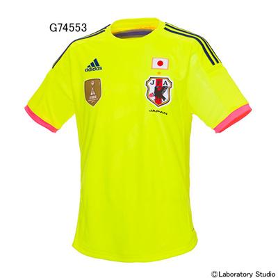 アディダス (adidas) 日本代表 なでしこアウェイレプリカジャージー(2014-) AD668 [分類:サッカー レプリカウェア (日本代表・国内クラブチーム)] 送料無料の画像