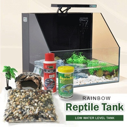 All-In-1 Premium Crystal White Glass Reptile Tank (with Sensor LED light)!