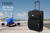 ★ Ferre 20 inch cabin trolley★ (Buy a trolley get a UNITED COLORS OF BENETTON Foldable Backpack )