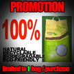 ★GROUP BUY PROMOTION★ 40% OFF - 24L green kat recyled paper litter