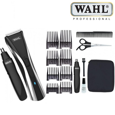 qoo10 wahl beard and nose trimmer 9698 317 cord and cordless usage with bath body. Black Bedroom Furniture Sets. Home Design Ideas