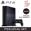 [SONY PLAYSTATION] PS4 500GB CUH-1206 Series Black Console / Local Set (15 Month Sony warranty)