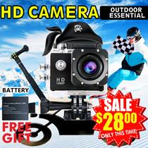 ◎4K SJ9000 WiFi Sport HD mini camcorder underwater shoot digital camera waterproof diving trips miniature wide-angle 3D Camera Hidden DV aerial camera