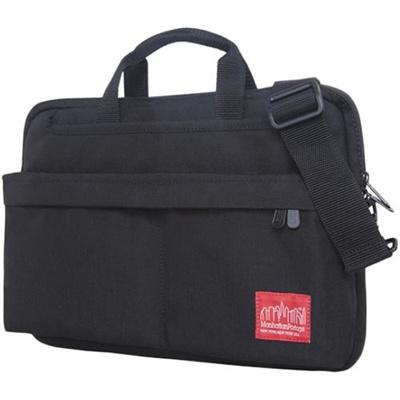 マンハッタンポーテージ(Manhattan Portage) コンバーチブルラップトップバッグデラックス Convertible Laptop Bag Deluxe MP1731 BLACK ブラック 【ビジネスバッグ ショルダーバッグ】の画像