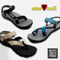 [1 + 1] ✪ ✪ SABERTOOTH ✪ Hiking Sandals - Traveling and Adventure Sandal - Unisex Adventure Footwear