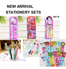 ★NEW ARRIVAL kids Stationery Set★Kids Party Gift★Birthday Goodies Bag★Cute Cartoon★children safety scissors★lots of design Cute Cartoon Plastic Bookmark Reuseable Puffy Student Christmas Gift