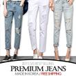 [grey u][FREE SHIPPING]Denim Long Pants♥Made in KOREA~!]★S/S 2015 Best Selling Premium Jeans in Korea♥free shipping/Skinny Pants/Washed Tight Denim Pants/Slim Pencil Pants/Various Size
