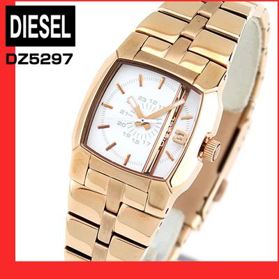 ★送料無料ディーゼル時計アナログDIESELDZ5297レディース腕時計watchCliffhangerクリフハンガーメタルホワイト×ローズゴールド海外モデル