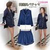[送料無料]sj276-5夏新作 stylenand *ファッション個性な上着+ショートパンツ/2点セット/パジャマ/ 2 color