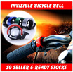 The New Invisible Bicycle Bell - Aluminum Horn For City N Mountain N Road Bike  / Bicycle Accessories Kits From Kids To Adults