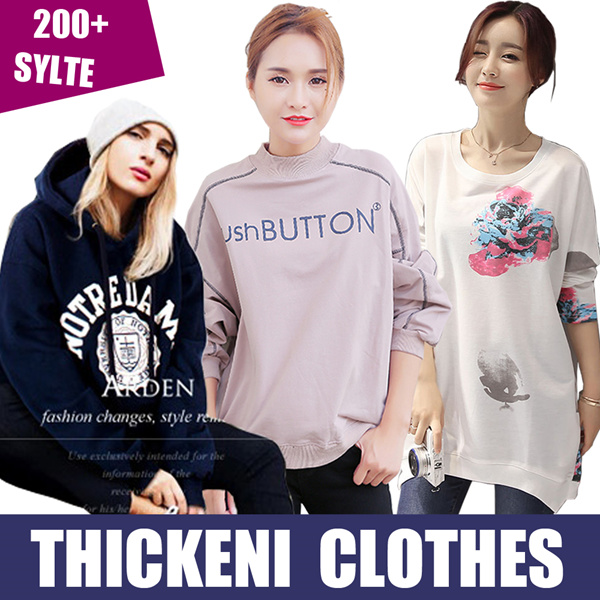Loose coat/Casual jacket/Hoodie/Round collar/jumper/thicken/Winter clothes//tops/Leisure clothing Deals for only S$14.5 instead of S$0
