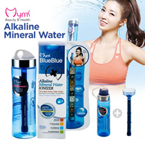 Korea]Mymi BlueBlue Portable Alkaline Mineral Water ionizer ★BPA FREE★Funtional Water Purifier