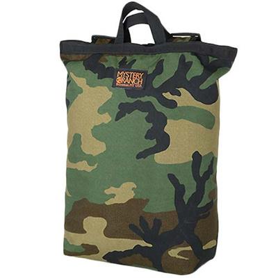 ミステリーランチ(MYSTERY RANCH) Booty Bag ブーティーバッグ ウッドランド カモ(Woodland Camo) 【トートバッグ リュック かばん】の画像