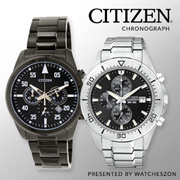 Citizen Mens Watch Chrono Analog Japan BNIB AN3401-55A