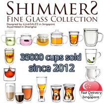 Borosilicate Glass Cups Assorted (not teapot / tea pot / Tea Cup / teacup)