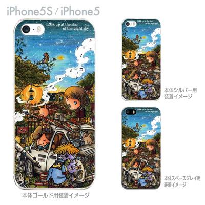 【SWEET ROCK TOWN】【iPhone5S】【iPhone5】【iPhone5sケース】【iPhone5ケース】【カバー】【スマホケース】【クリアケース】【アート】 46-ip5s-sh0017の画像