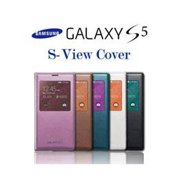 サムソン純正 GALAXY S5 SAMSUNG S-VIew Cover ギャラクシーS5 Sビューカバー サムソン純正 フリップカバー