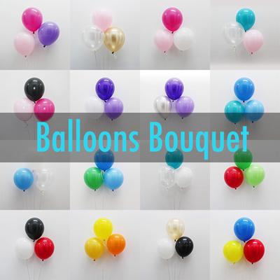 qoo10 balloons bouquet 30 pcs per set helium balloons. Black Bedroom Furniture Sets. Home Design Ideas