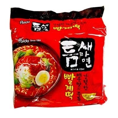 【韓国食品・韓国ラーメン】今までのラーメンの中で! 一番辛い!!辛いに挑戦する方におすすめ!!■韓国のトムセラーメン【5個セット】(辛さ7)■の画像
