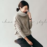 [CANMART] 韓国ファッション★タートルネック C102043 体型カバー★高級でおしゃれな感じがぷんぷん~柔かくて秋冬にピッタリ!