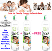 【Twin Pack】Bio-X™ 3 in 1 aerosol spray(eliminate mosquitoes cockroaches ants houseflies bed bugs flea ticks carpet mites etc) 【Insecticide】【Disinfectant】【Deodorizer】【Repellent】-Safe for Baby Adult pet