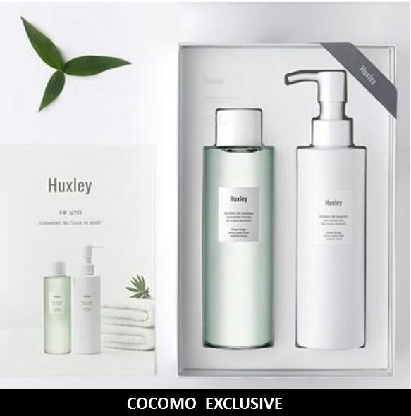 ?$29.90 NETT!! DUO SET!?FREE SAME DAY DELIVERY!!!5 STARS REVIEWS!!HUXLEYCLEANSING GEL+WATER? Deals for only S$139 instead of S$0