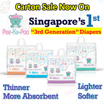 Pee-Ka-Poo Diapers | Carton Sale | Fast Absorption Super Thin Soft Super Dry No Leakage Wetness Lock
