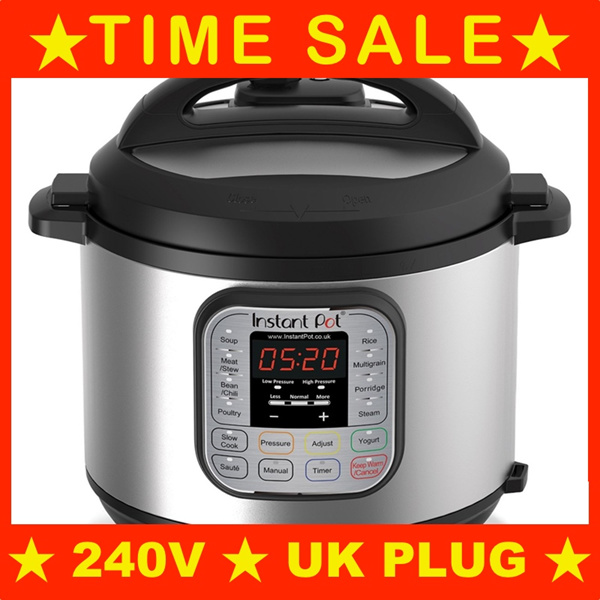 Instant Pot Duo 7-in-1 Electric Pressure Cooker 6 Litre?240V SG Plug?LOCAL STOCKS? Deals for only S$400 instead of S$0