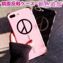 ★大人気 韓国ファッション iphone7 ケース リンゴ殻ろく/ 6 sカバー創意カップル iPhone6鏡面反戦ケース   iphone6s Plus iPhoneケースアイフォン6ケース