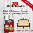 ▶3M◀ Scotchgard Fabric and Upholstery Cleaner and Protector (save 50%) SG 4101/1014
