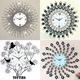 [youting] new arrival crystal clock 3D Modern art Clock ❤Flip Clock❤Meidi Wall clock❤DIY digital creative gifts❤