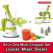 ★KOREA HIT ITEM★ KONSTAR Multi Funtional Set /Slicer / Juicer / Blender / Hurom /  Chopper / Greater