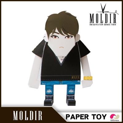 【国内発送】【日本公式販売】【数量限定】 Moldir PaperToy Type.2◆JYJ ジェジュン MOMOTOの画像