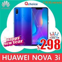 [LOWEST] Huawei Nova 3i 4GB RAM / 128GB ROM (Black/Purple)   2 Year Huawei SG Local Warranty
