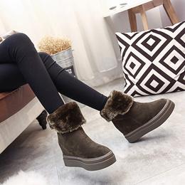 リチャオ海外輸出向け☆品質自信ありあったか  靴 ムートン ブーツ 全2色 7feb-shoes-1309シューズ パンプス ぺたんこ
