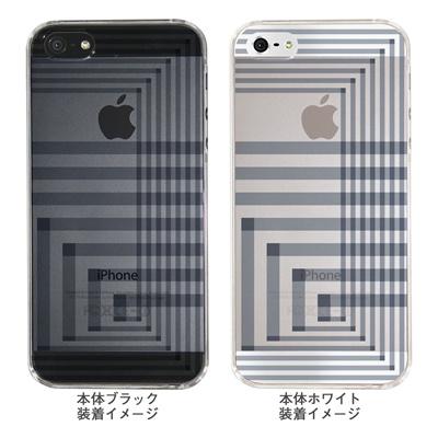 【iPhone5S】【iPhone5】【Clear Arts】【iPhone5ケース】【カバー】【スマホケース】【クリアケース】【チェック・ボーダー・ドット】【アングル】 ip5-06ca0021rの画像