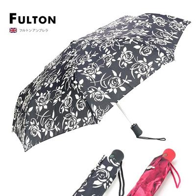フルトン FULTON レディース 折畳傘/折りたたみ傘 L346 OPEN & CLOSE-4の画像