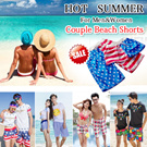 [BUY 2 FREE SHIPPING] 2016 Big Promotion! Couple Beach Shorts/Fashion Summer Pants/All New Collection/ Lovers Shorts/For Men~Women/ Summer Wear/ SIZE L -2XL