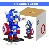 (No.01~No.25 Series Order Link)Lowest Price▶Diamond Block Mini Block◀ Enjoy with lovely kids / Gift Series-Avengers Transformers Super Mario Micky Mouse SnoopyHellow Kitty/ Star wars