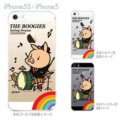 【SWEET ROCK TOWN】【iPhone5S】【iPhone5】【iPhone5sケース】【iPhone5ケース】【カバー】【スマホケース】【クリアケース】【アート】 46-ip5s-sh2016の画像
